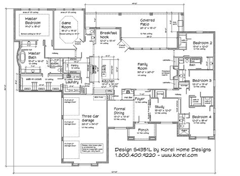 south texas house plans house plan s4351l texas house plans over 700 proven home designs online texas house plans