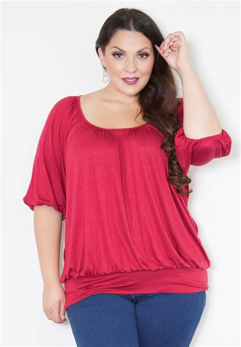 Rosita Peplum blusas para gorditas 2016 2