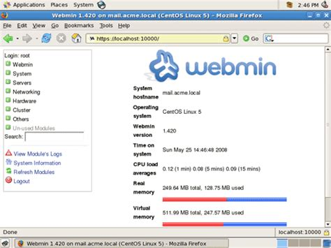 tutorial webmin linux install webmin di centos 5 tutorial full grobog berita