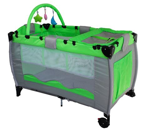 Portable Baby Beds by Portable Child Baby Travel Cot Bed Bassinet Playpen Play