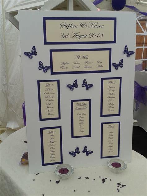 wedding plans purple butterfly table plans wisp events wedding ideas