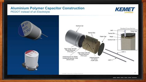 aluminum polymer capacitor vs electrolytic electrolytic capacitors vs organic aluminum polymer capacitors explained via baldengineer