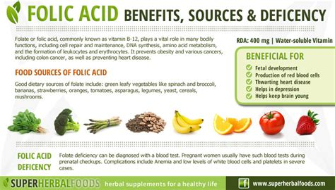 best sources of folic acid folic acid are you ready for a change