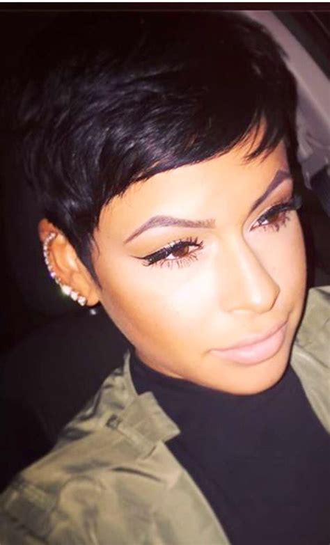 Black Hairstyle Cut In Back by Best 25 Black Pixie Haircut Ideas On Black