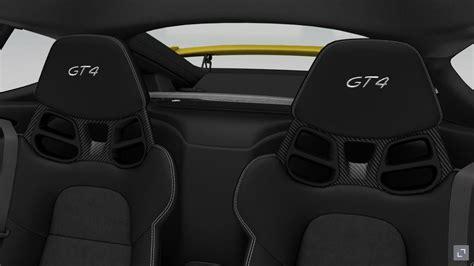 Porsche Cayman Erfahrungen by Cayman Gt4 Sportschalensitze Vs Vollschalensitze