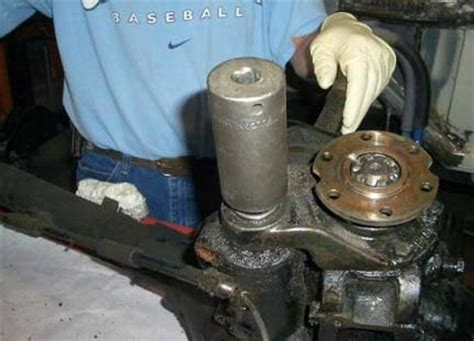 mercedes benz ponton rear axle solid boot replacement