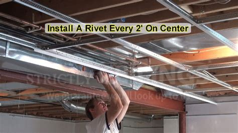 How To Build A Suspended Ceiling by Build Basic Suspended Ceiling Drops Drop Ceilings