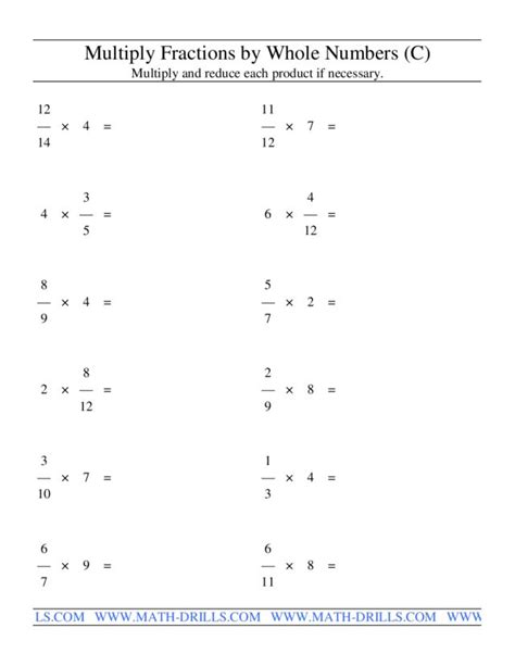 Multiplying Fractions By Whole Numbers Worksheet by Multiplying Fractions Using Models Worksheet Multiplying
