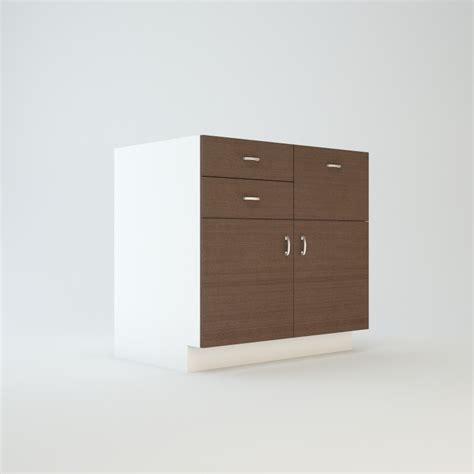base cabinet 36 quot three drawers in combination