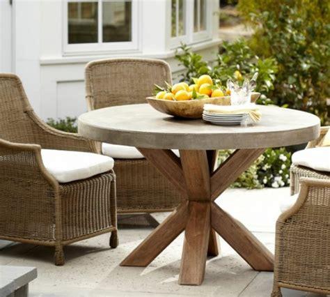 table patio ronde salon de jardin et meubles pour repas 224 l ext 233 rieur