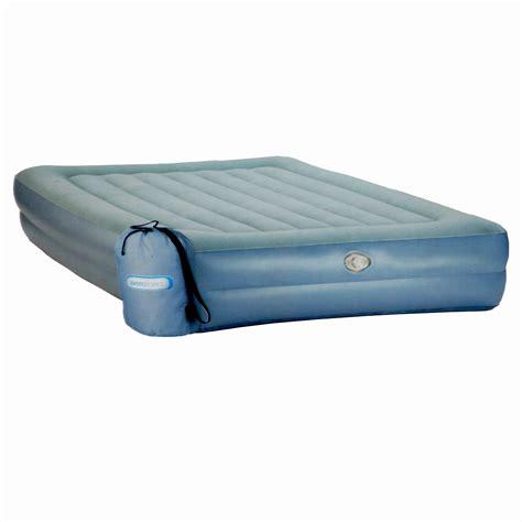 aerobed deluxe comfort double height queen air mattress ebay