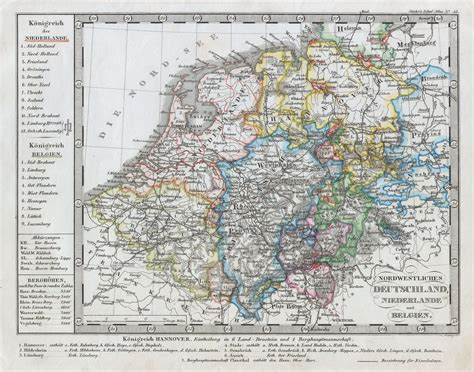 belgium and germany map 1862 stieler map of holland belgium and western germany