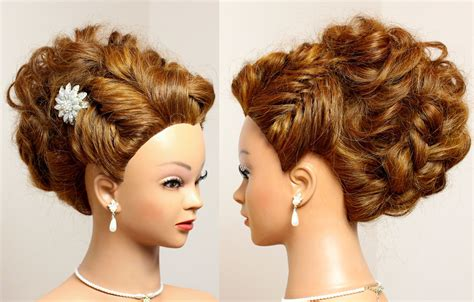 Bridal Updo Hairstyles Tutorials by Prom Bridal Updo Hairstyle For Hair Tutorial
