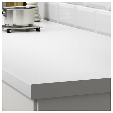 Kitchen Worktop Desk by S 196 Ljan Worktop White 246x3 8 Cm
