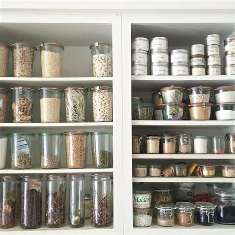 Jar Pantry by Pantry Weck Jars And Pantry Storage On