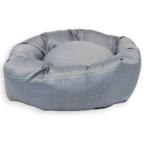 beds direct jersey grey donut bed new pet beds direct