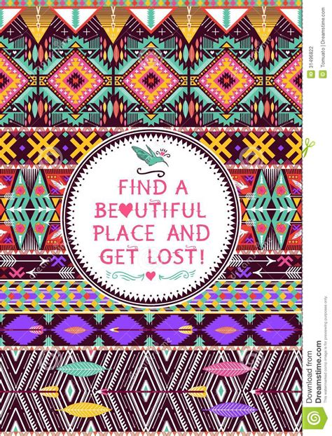 Tribal Pattern With Quotes | tribal pattern tumblr quotes www pixshark com images