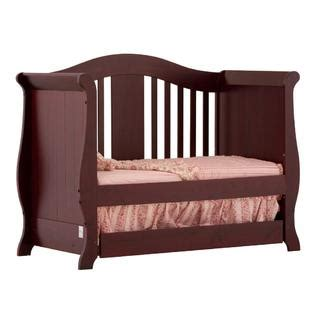 Stork Craft Vittoria 3 In 1 Fixed Side Convertible Crib Storkcraft Vittoria 3 In 1 Fixed Side Convertible Crib Cherry