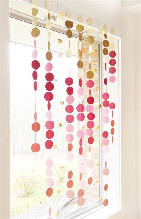 How To Make A Paper Garland - best 25 circle punch ideas on craft punches
