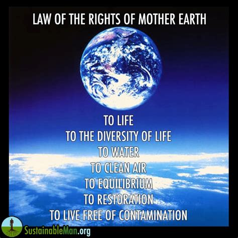 biography of mother earth clean water quotes like success