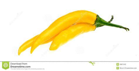 spanish for yellow yellow spanish pepper stock photography image 4987442