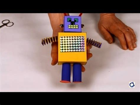 How To Make A Paper Robot - how to make a paper robot