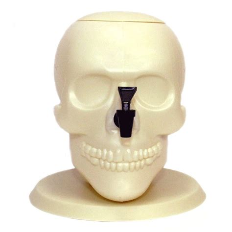 giant drink giant skull drink dispenser the green head