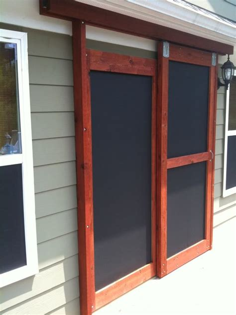 Screen Doors For Garage 25 Best Ideas About Sliding Screen Doors On Screened Deck Patio Door Screen And