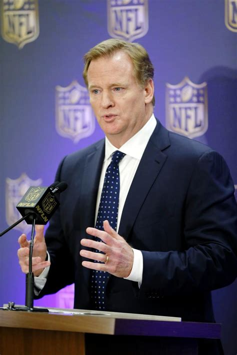peyton manning and roger goodell goodell says nfl taking manning hgh report very seriously