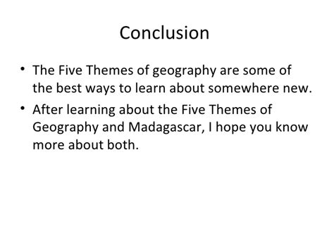 5 themes of geography news articles madagascar and the five themes of geography