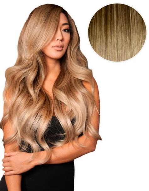 what color is closest to bellami 1c balayage 220g 22 quot ombre chocolate brown dirty blonde hair