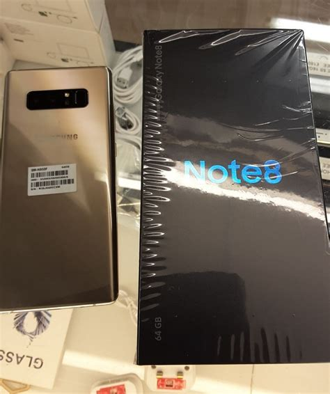 Harga Samsung Note 8 Black Market samsung galaxy note 8 maple gold 64 gb batam black market