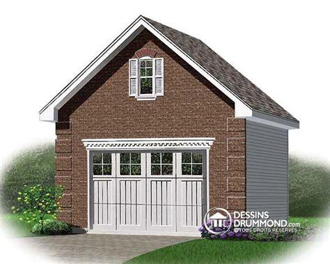 car garage plans co 251 t de construction d un garage d 233 tach 233 dessins drummond