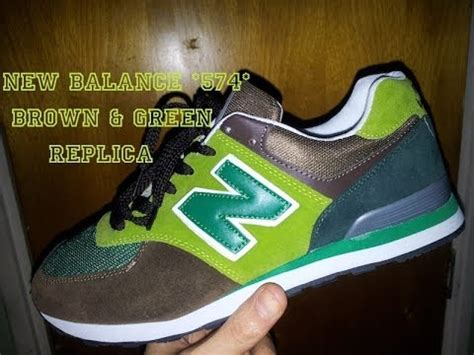 aliexpress new balance 574 brown green