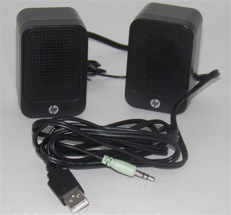 Speaker Laptop Hp hp multimedia computer speakers 630797 001 slimline pc ebay