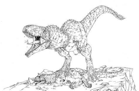 giganotosaurus coloring pages