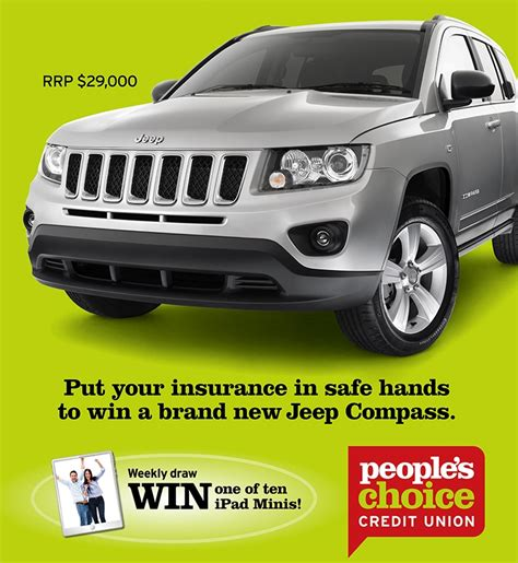 Jeep Credit Union S Choice Credit Union Insurance Win A Jeep Co