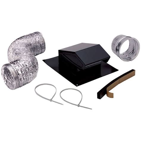 Bathroom Fan Duct Kit Bathroom Ducting Accessories Broan Roof Vent Bathroom