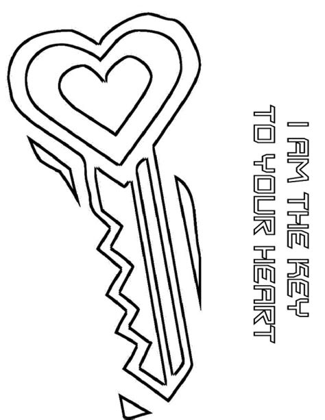 free coloring pages keys free printable key coloring page 88 for pictures with key