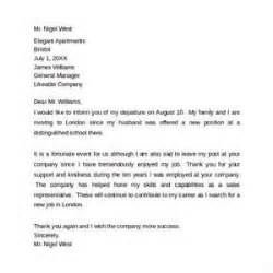 Resignation Letter To Customers goodbye letter to clients letter of recommendation