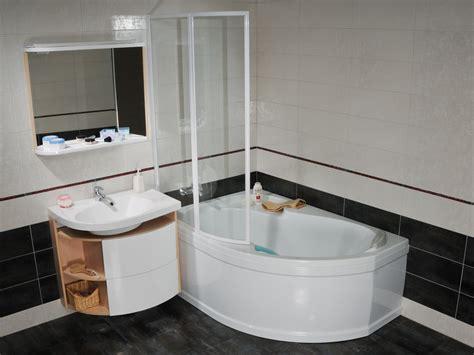 raumspar badewanne 120 raumspar wanne mit sch 252 rze 160 x 105 cm und duschbereich