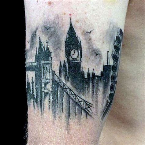 tattoo of london skyline 70 armband tattoo designs for men masculine ink ideas