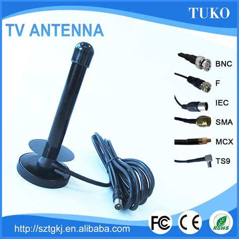 Dvb T2 Digital Antenna 1 5dbi Made In China 5dbi indoor dvb t2 isdb antenna with extended cable sma for tv or set top box buy dvb t2