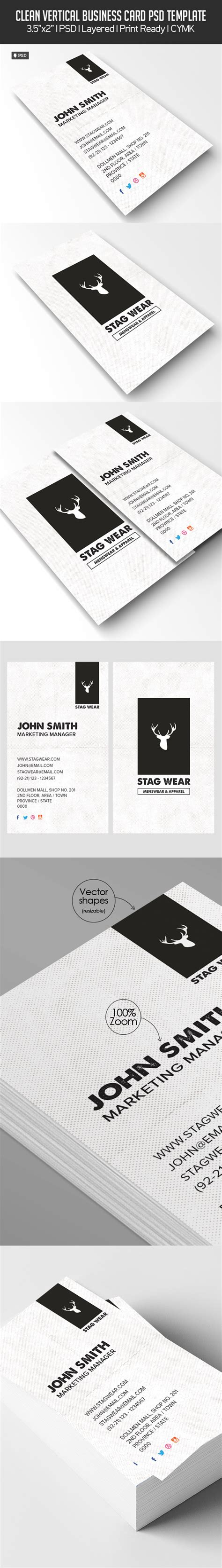 free vertical business card template psd freebie vertical business card psd template freebies