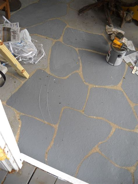 faux painting concrete patio 1000 images about front concrete makeover on