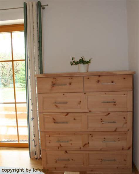 kommode zirbe zirbenschlafzimmer schlafzimmer aus zirbenholz