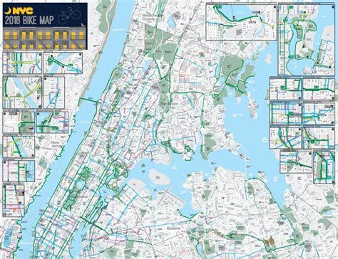 nyc bike map the official 2016 nyc bike map has arrived 6sqft