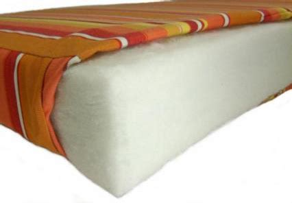 Filling For Cushions by Cushion Pros Filling Types Densified Fiber Foam