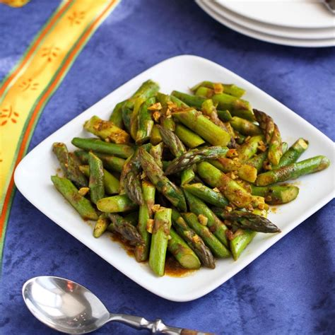 dishes with asparagus cookin canuck 5 ingredient asparagus recipe with curry