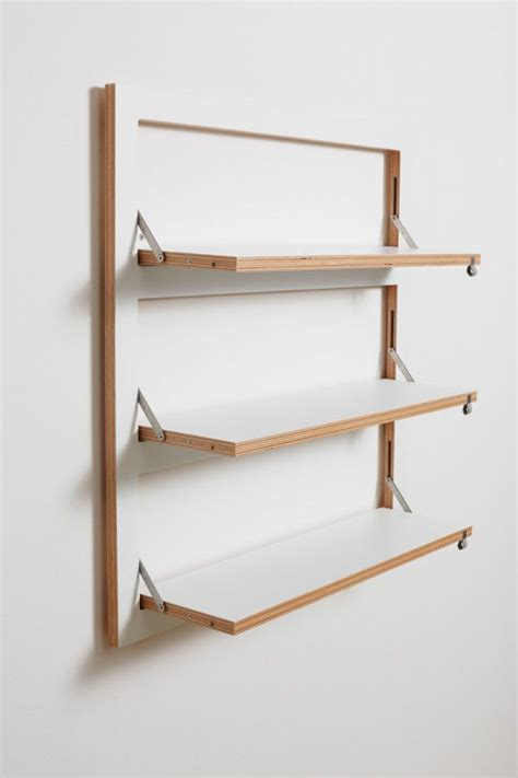 Wall Mounted Bookshelves Customizable Wall Mounted Shelving From Ambivalenz Wall
